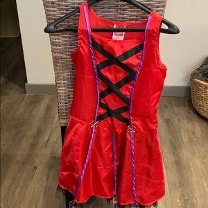 Red dress Halloween costume